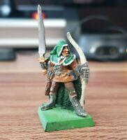 Waldelf Elf #1 - Games Workshop Warhammer Zinnminiatur - Metallfigur - Selten!
