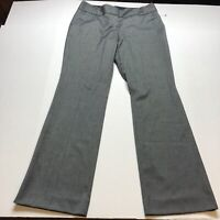 The Limited Cassidy Fit Gray Work Dress Pants Sz 10 A1971