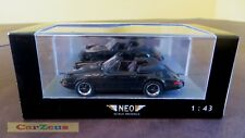 1:43 Neo Scale Models, Porsche 911 Carrera Cabrio USA, Black, NEO43250