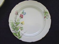 "Aladdin Gardena Occupied Japan china 10"" DINNER PLATE Ex cond Sweet Pea Design"