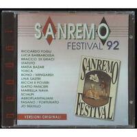 AAVV CD Sanremo Festival 1992 / EMI – 7990022 Sigillato