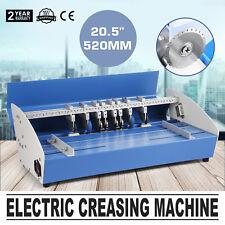 520mm Electric Creaser Scorer Paper Creasing Machine Printing Office Scoring