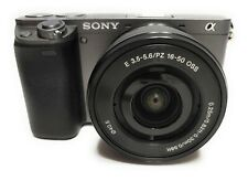 Sony Alpha a6000 Mirrorless Digital Camera-16-50mm Lens+64 GB SD+Reference Book
