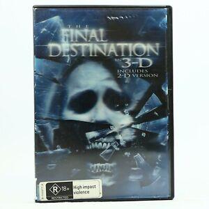 The Final Destination Lenticular Case 3D 2D 2-Disc Set DVD GC