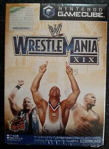 WWE Wrestlemania XIX Japanese Nintendo GameCube Brand New Sealed