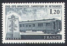 France 1978 RAIL/transport/WWI/Guerre/Armistice 1 V (n25160)