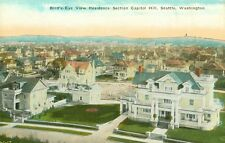 Seattle,WA. A Bird's Eye view of the Capitol Hill Residential Section