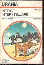 URANIA n° 790-PAUL WILSON-INTRIGO INTERSTELLARE-BLISTER