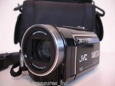 JVC EVERIO GZ-MG670 30GB HDD Camcorder Remote Battery AV AC Cables