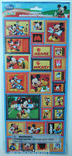 Disney ~MICKEY MOUSE AND FRIENDS STAMPS~ Stickers SANDYLION; Pluto Minnie Goofy
