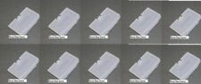10 LOT Ice Blue Glacier Game Boy Advance Battery Cover