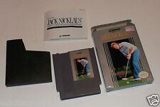 Jack Nicklaus' Greatest 18 Holes of Major Championship Golf (NES, 1990) CIB VGC