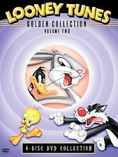 Looney Tunes Golden Collection: Vol. 2 (DVD, 2004, 4-Disc Set) Discs Mint Sealed