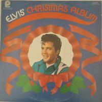 Elvis Christmas Album LP Pickwick