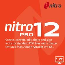 Nitro Pro 12 PDF Entreprise Full Version ?PDF Editor ? LifeTime License Key