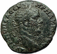 MACRINUS Nicopolis ad Istrum Legate Agrippa Hygeia Serpent Roman Coin  i76117