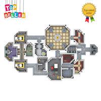 Among Us the Skeld Full Map Model MOC-53670 Building Blocks Toys Sets for Kids
