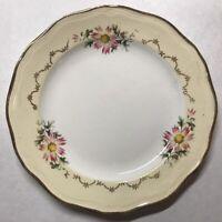 Lot11 De 6 Petites Assiettes En Demi Porcelaine L'amandinoise 1525 D 19,5 Cm