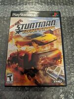 Stuntman: Ignition (Sony PlayStation 2, 2007) PS2 Driving Game, Case, Manual