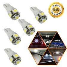 5x Xenon White Led T10 2825 168 158 Smd Wedge High Mount Stop Light Dome Bulbs (Fits: Neon)