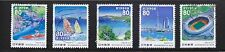 JAPAN 2013 (PREFECTURE) 68TH NATIONAL ATHLETIC MEETS (TOKYO) COMP. SET 5 STAMPS