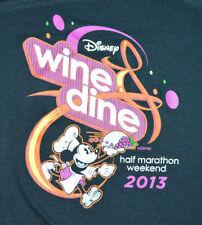 Disney Wine & Dine 2013 Half Marathon Champion Long Sleeve Running Shirt Medium