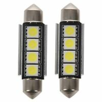 2x Festoon CANBUS 41mm C5W SV8 5050 Light Bulb Interior Number Plate White R5Z3