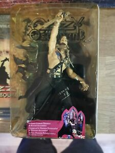 McFarlane Toys 2003 Ozzy Osbourne Action Figure w/ Stage Diorama, Boxed
