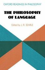 The Philosophy of Language (Oxford Readings in Philosophy)-ExLibrary