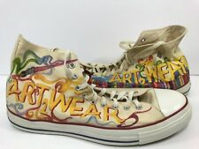 Men's Converse Art Wear Edition Beige Shoes U S Size 17