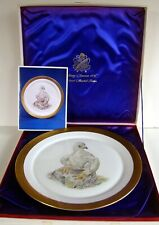 "1973 Edward Marshall Boehm ""Young America 1776"" Collection Plate In Box-Gift!"