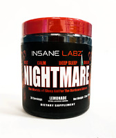 Insane Labz NIGHTMARE Sleep Rest Dream Calm Aid 30 Servings LEMONADE