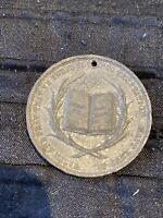 Keesey- Church Of Ireland The Total Abstinence Society - Vintage Medal Coin Rare