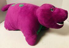 Barney & Friends Purple Dinosaur Pillow Pets Plush 2011 PBS Kids Clean