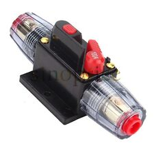 DC 12V 100A Car Amplifier Audio Current Circuit Breaker Inline Fuse Protector