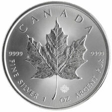 2015 Canada $5 Silver Maple Leaf .9999 pure