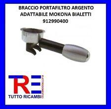 BRACCIO PORTAFILTRO ARGENTO ADATTABILE MOKONA BIALETTI 912990400