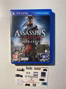 PS VITA Assassin's Creed III Liberation Console Sony PSVITA playstation vita