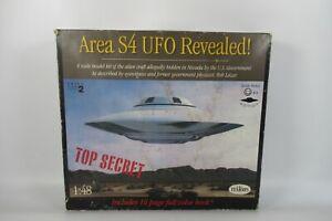 Testors area S4 UFO revealed  Alien Space Craft Saucer model Kit