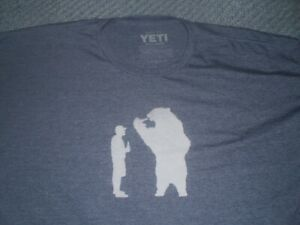 Graphic tee by Yeti men's size XXL