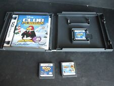 Nintendo DS Lot of 3 Games Club Penguin, Over the Hedge, Zoo Tycoon Work Great!