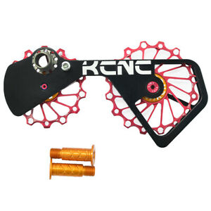 KCNC 12T+16T Oversized Derailleur Pulley System Cage Shimano 2017 9100 JOCKEY 98