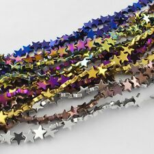10 Premium Hematite 10mm Star Beads. 4 Colours available. (BOX87&87A)