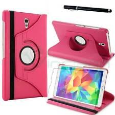 Pellicola+Pennino+Custodia Rotante FUCSIA per Samsung Galaxy Tab S 8.4 T700 T705