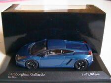LAMBORGHINI GALLARDO 2006 BLU HERA METAL MINICHAMPS 400103505 1/43 BLUE BLEU