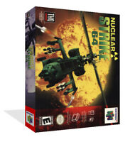 - Nuclear Strike N64 Replacement Cartridge Game Case Box + Cover Art Work Only