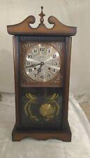 Vintage Alaron 31 Day Clock with key.