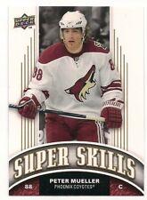 Peter Mueller 08-09 Upper Deck 1 Super Skills SP