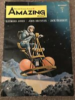 Amazing Stories Fact And Science Fiction, Paperback Pulp Magazine, November 1964