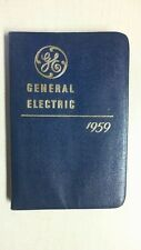 VINTAGE GENERAL ELECTRIC COMPANY 1959  DIARY SHIPS FREE BK5